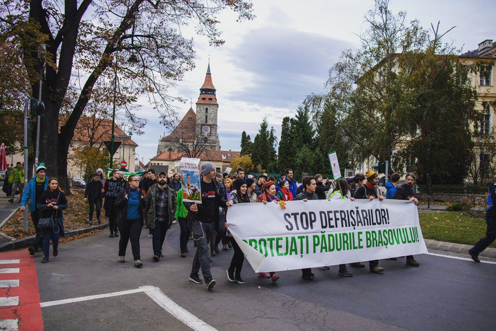 Stop Drumul forestier Gorita - USR Brasov